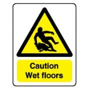 Warn077 - Caution Wet Floors